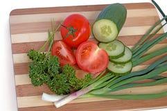 grönsaker för 1 sallad royaltyfri bild