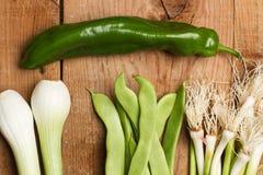 Grönsaker för en soppa Royaltyfria Bilder