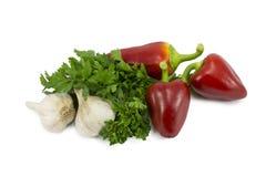Grönsaker för förberedelse av mat Royaltyfri Fotografi