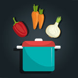 grönsaker för grönsak för tomat för produce för gurkamat vita nya sunda stock illustrationer