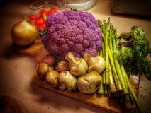 Grönsaker för konungar Arkivfoton