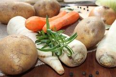 Grönsaker för matlagning Arkivfoto