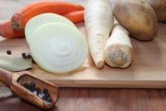 Grönsaker för matlagning Arkivbilder