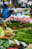 grönsaker för ny marknad royaltyfri bild