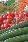 grönsaker för ny marknad Arkivbilder