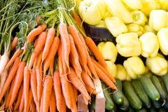grönsaker för ny marknad Royaltyfri Foto