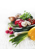 grönsaker för samlingsdesignelement Royaltyfri Foto