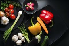 grönsaker för samlingsdesignelement Arkivfoto