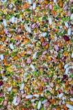 Grönsaker för Soup Vegetarian och strikt vegetarian bantar Royaltyfri Bild