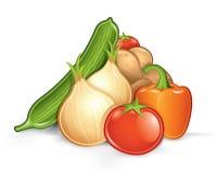 grönsaker för stapel eps10 Royaltyfria Foton