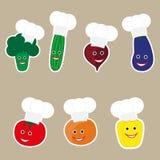 Grönsaker i kocklock Royaltyfri Foto
