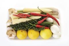 Grönsaker närbild arkivfoton