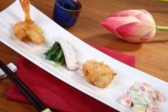 Grönsaker och fisk Arkivfoton