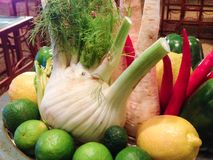 Grönsaker och frukt Arkivfoto