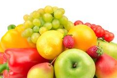 Grönsaker och frukter Arkivbilder