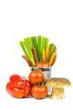 Grönsaker och tenn 3 Royaltyfri Foto
