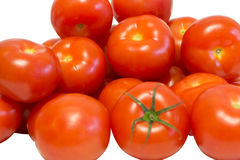 Grönsaker på en vitbakgrund arkivbild