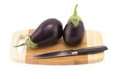 Grönsaker på kökblackboarden Fotografering för Bildbyråer