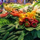 Grönsaker på marknaden Royaltyfria Foton