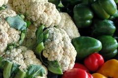 Grönsaker på marknaden Royaltyfri Fotografi
