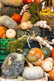 Grönsaker på marknaden, Italien Arkivfoton