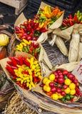 Grönsaker på marknaden, Italien Royaltyfri Fotografi
