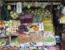 Grönsaker shoppar Royaltyfri Bild