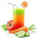 Grönsakfruktsaft Arkivfoto