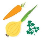 Grönsakillustration Royaltyfri Illustrationer
