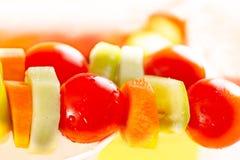 Grönsakkebab Royaltyfri Fotografi