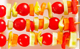 Grönsakkebab Royaltyfri Bild
