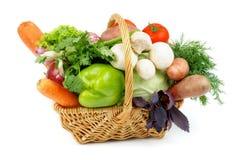 Grönsakkorg royaltyfria bilder