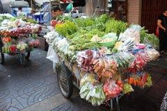 Grönsaklastbil royaltyfri fotografi