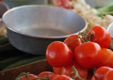 Grönsakmarknad Royaltyfri Bild