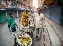 Grönsakmarknad i Katmandu Royaltyfri Bild