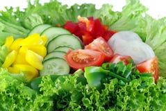 Grönsaksallad Arkivfoto