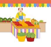 grönsakshandlare Arkivbilder