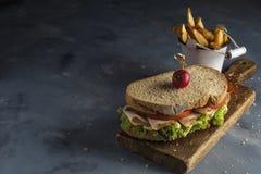 Grönsaksmörgås Fotografering för Bildbyråer