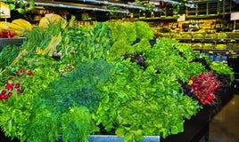 Grönsakställning Royaltyfria Foton