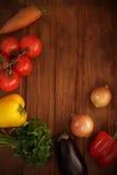 Grönsakuppsättning Royaltyfria Bilder