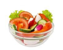 grönsallatgrönsaker arkivfoto