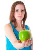 Grönt äpple Royaltyfri Fotografi