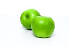 Grönt äpple Arkivfoto