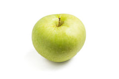 grönt äpple - vät royaltyfri foto