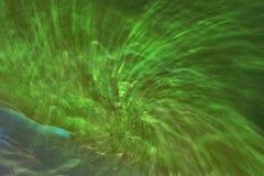 Grönt abstrakt begrepp texturerad tapetbakgrundsvirvel Royaltyfria Bilder
