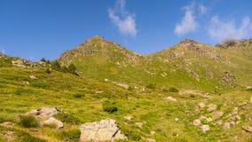 Grönt berg Arkivfoton