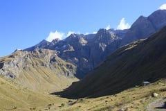 grönt bergpanticosa ställe pyrenees Royaltyfri Foto
