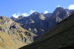 grönt bergpanticosa ställe pyrenees Royaltyfria Bilder