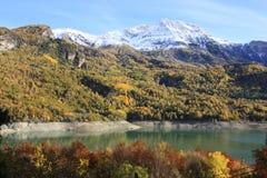 grönt bergpanticosa ställe pyrenees Arkivbild