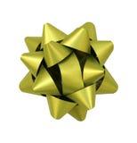 grönt blankt för bow Fotografering för Bildbyråer